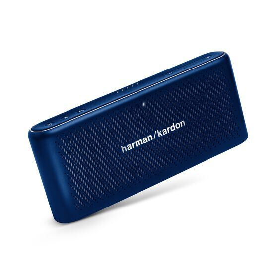 Traveler - Blue - All-in-one travel speaker - Hero