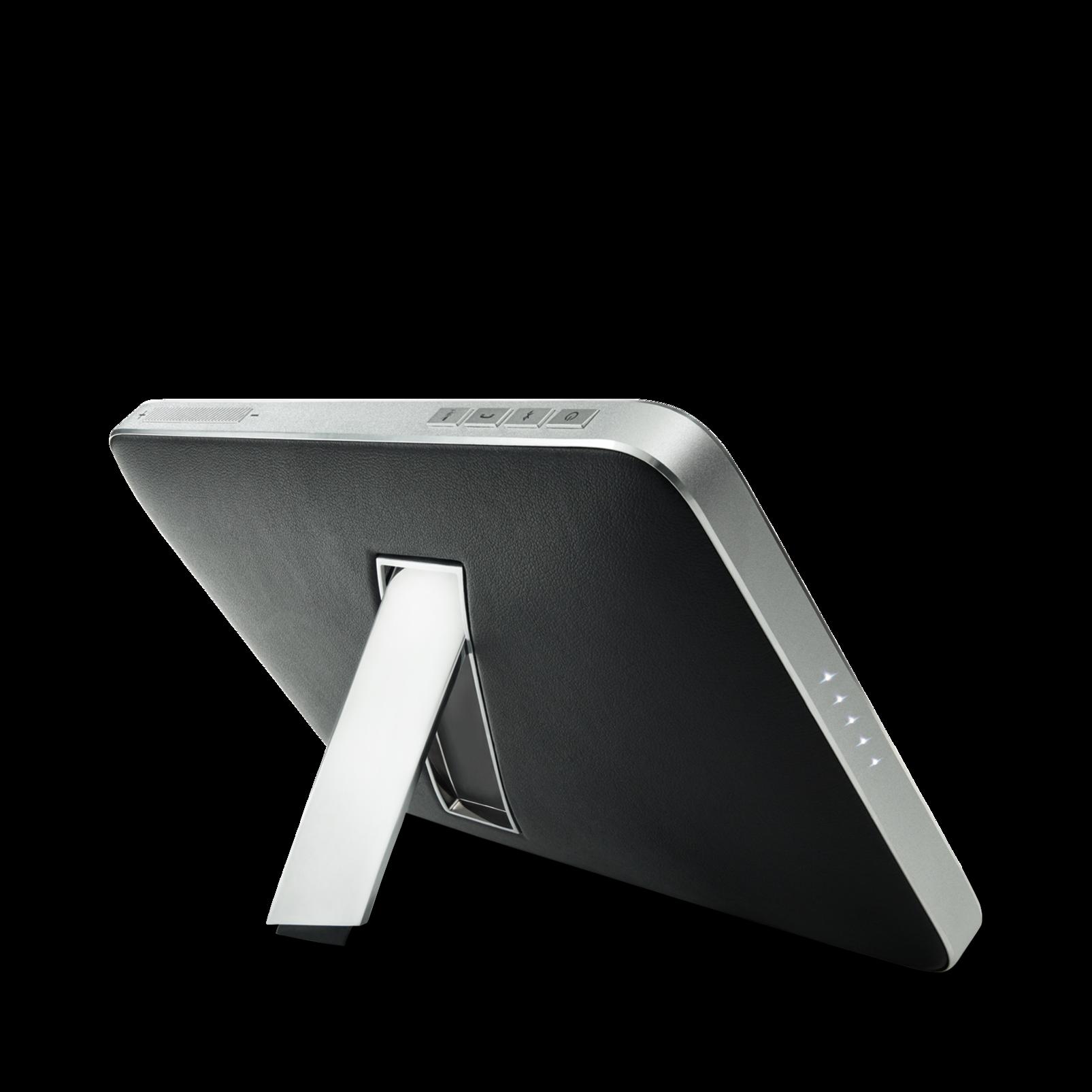 Esquire 2 - Black - Premium portable Bluetooth speaker with quad microphone conferencing system - Back