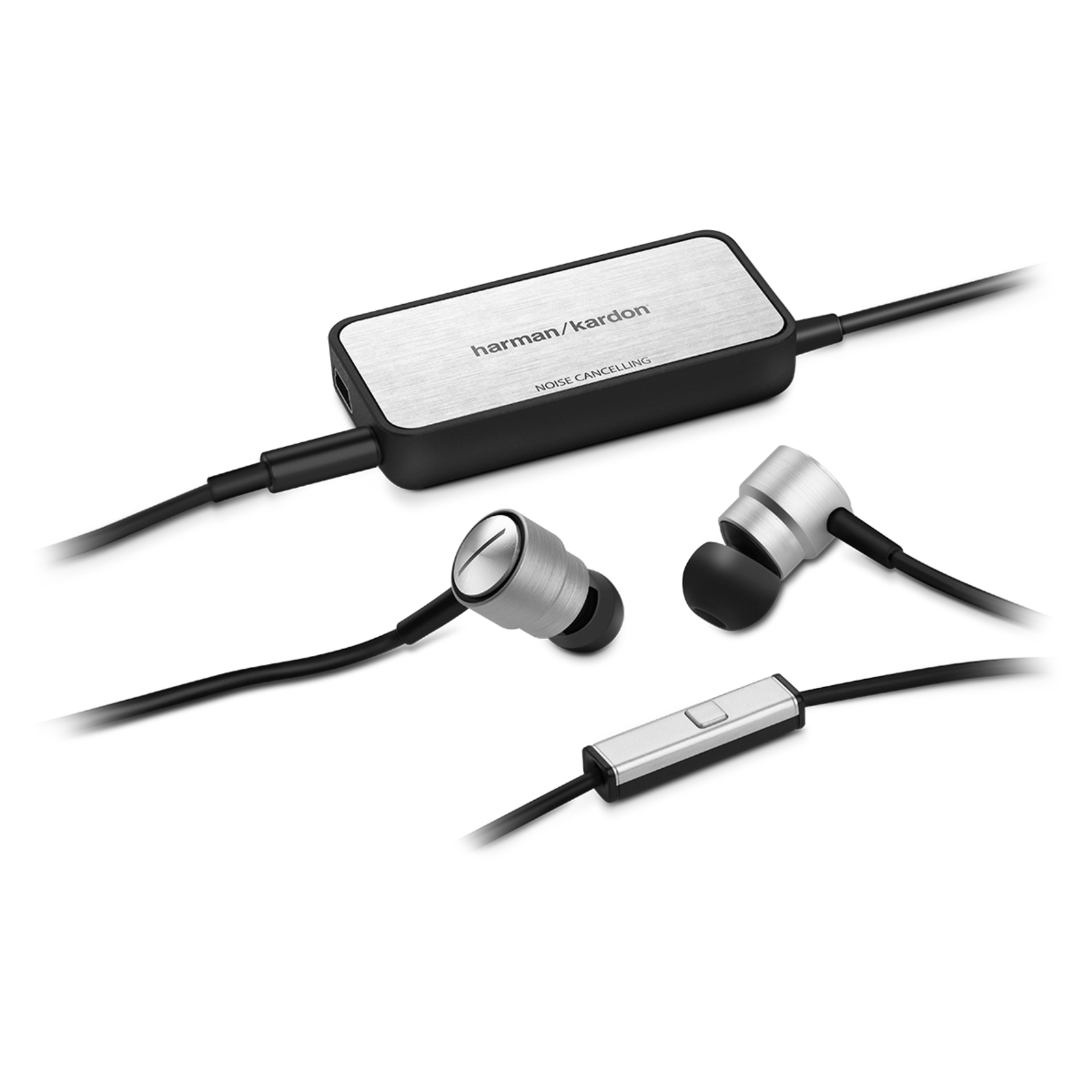 Soho II NC - Black - Active, noise-cancelling, in-ear headphones with microphone - Detailshot 2